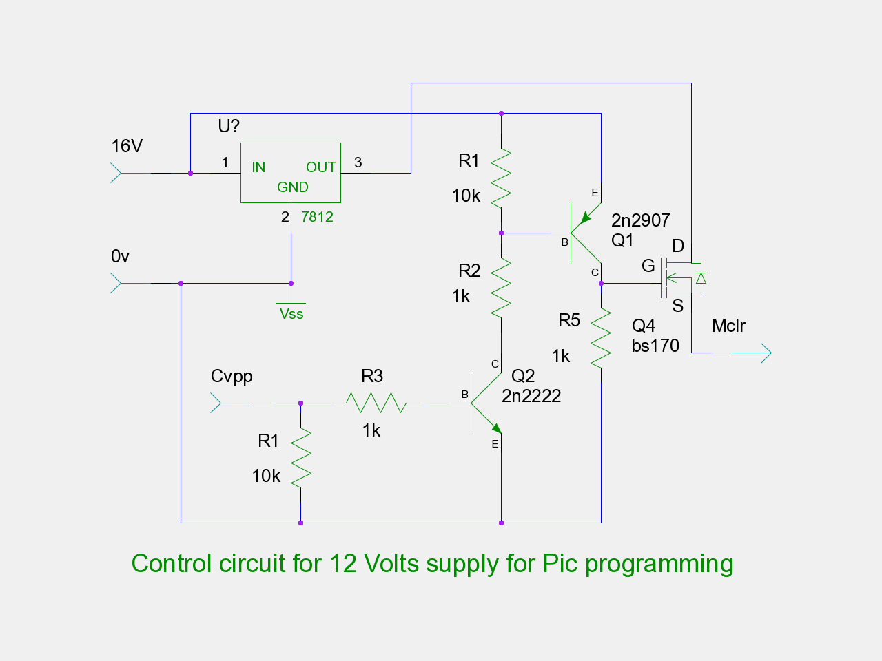 Micro eprom programmer pgrm3 programmer side schematics for 12 volts supply pooptronica Gallery